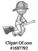 Firefighter Clipart #1687792 by Leo Blanchette