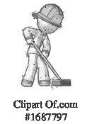 Firefighter Clipart #1687797 by Leo Blanchette