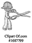 Firefighter Clipart #1687799 by Leo Blanchette