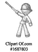 Firefighter Clipart #1687803 by Leo Blanchette