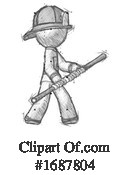 Firefighter Clipart #1687804 by Leo Blanchette