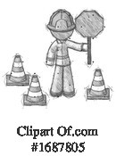 Firefighter Clipart #1687805 by Leo Blanchette