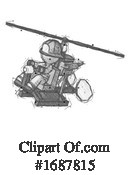 Firefighter Clipart #1687815 by Leo Blanchette