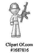 Firefighter Clipart #1687816 by Leo Blanchette