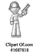 Firefighter Clipart #1687818 by Leo Blanchette