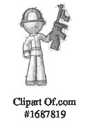 Firefighter Clipart #1687819 by Leo Blanchette