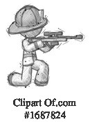 Firefighter Clipart #1687824 by Leo Blanchette