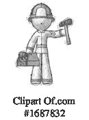 Firefighter Clipart #1687832 by Leo Blanchette