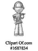 Firefighter Clipart #1687834 by Leo Blanchette