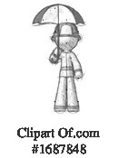 Firefighter Clipart #1687848 by Leo Blanchette
