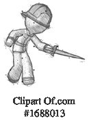 Firefighter Clipart #1688013 by Leo Blanchette