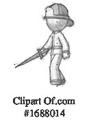 Firefighter Clipart #1688014 by Leo Blanchette