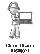 Firefighter Clipart #1688021 by Leo Blanchette