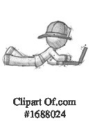 Firefighter Clipart #1688024 by Leo Blanchette
