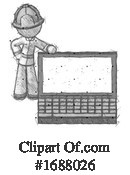 Firefighter Clipart #1688026 by Leo Blanchette