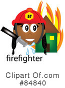 Firefighter Clipart #84840 by Pams Clipart