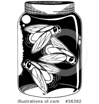 Fireflies Clipart #36382 by LoopyLand