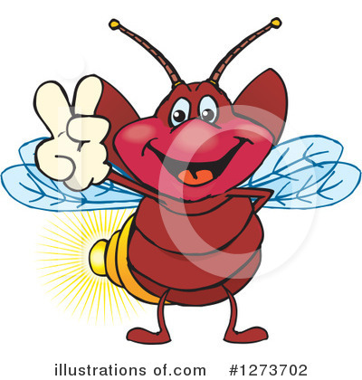 Fireflies Clipart #1273702 by Dennis Holmes Designs