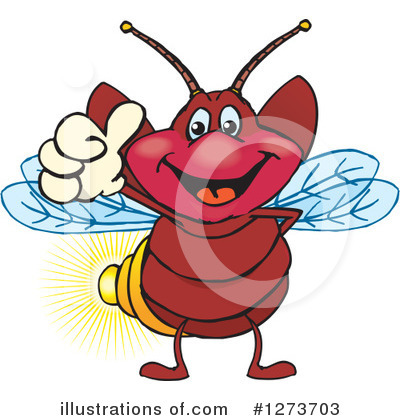 Fireflies Clipart #1273703 by Dennis Holmes Designs