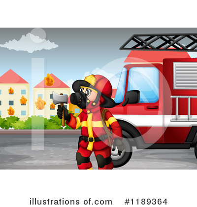 Fireman Clipart #1189364 by Graphics RF