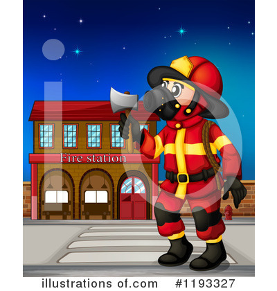 Fireman Clipart #1193327 by Graphics RF