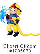 Fireman Clipart #1235073 by Graphics RF