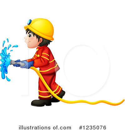 Fireman Clipart #1235076 by Graphics RF