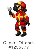 Fireman Clipart #1235077 by Graphics RF