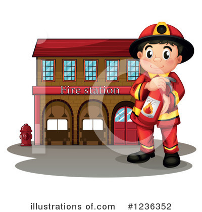 Fireman Clipart #1236352 by Graphics RF