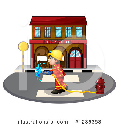Fireman Clipart #1236353 by Graphics RF