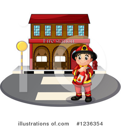Fireman Clipart #1236354 by Graphics RF