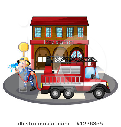 Fireman Clipart #1236355 by Graphics RF
