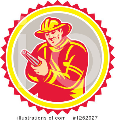 Fire Department Clipart #1262927 by patrimonio