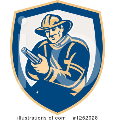 Fire Department Clipart #1262928 by patrimonio