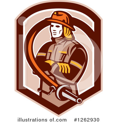 Fire Department Clipart #1262930 by patrimonio