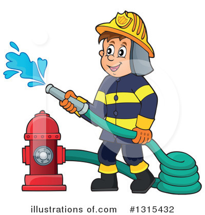 Firefighter Clipart #1315432 by visekart