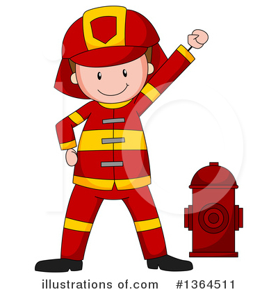 Fireman Clipart #1364511 by Graphics RF