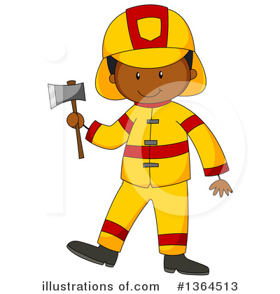 Fireman Clipart #1364513 by Graphics RF
