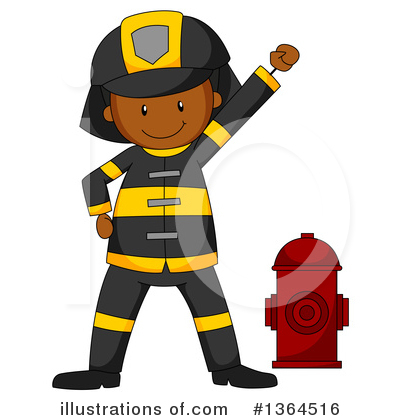 Fireman Clipart #1364516 by Graphics RF