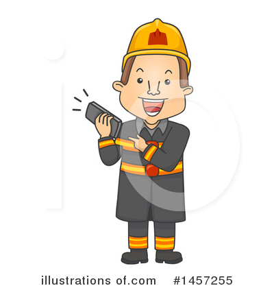 Firefighter Clipart #1457255 by BNP Design Studio