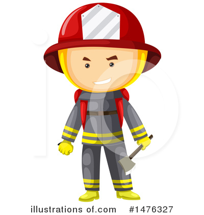Fireman Clipart #1476327 by Graphics RF