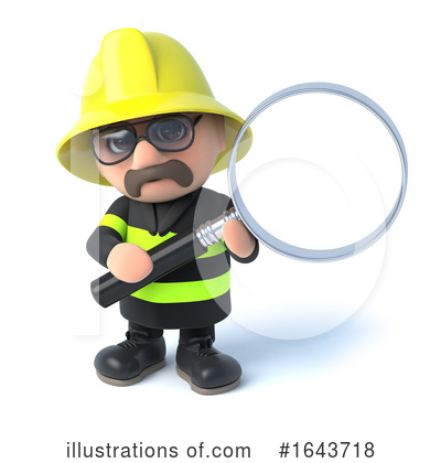 Fireman Clipart #1643718 by Steve Young