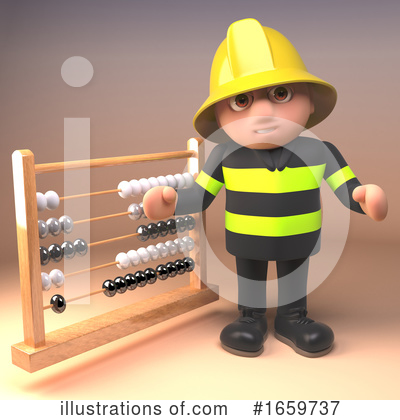 Fireman Clipart #1659737 by Steve Young