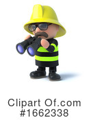 Fireman Clipart #1662338 by Steve Young