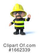 Fireman Clipart #1662339 by Steve Young