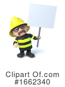 Fireman Clipart #1662340 by Steve Young