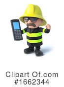 Fireman Clipart #1662344 by Steve Young