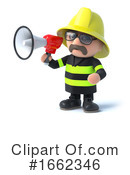 Fireman Clipart #1662346 by Steve Young