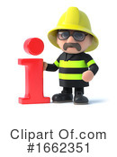 Fireman Clipart #1662351 by Steve Young