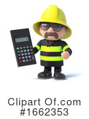 Fireman Clipart #1662353 by Steve Young
